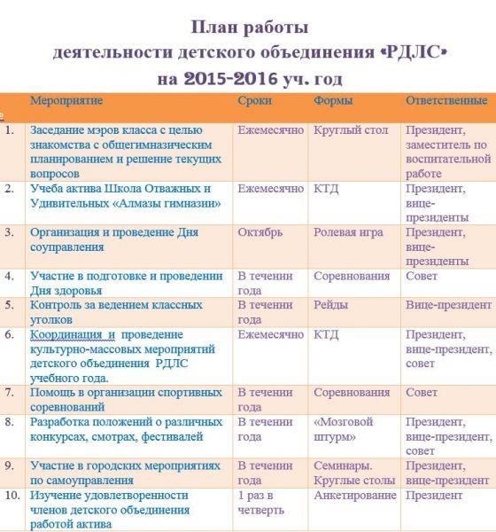 план 2015-2016