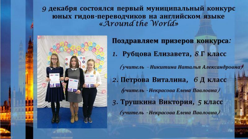Конкурс гидов переводчиков