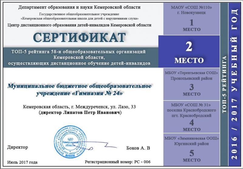 2 место КемСДО